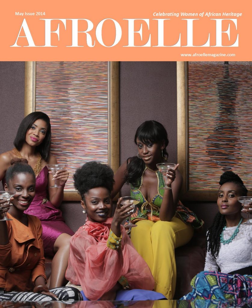 Afroelle Magazine May 2014 Issue Cover
