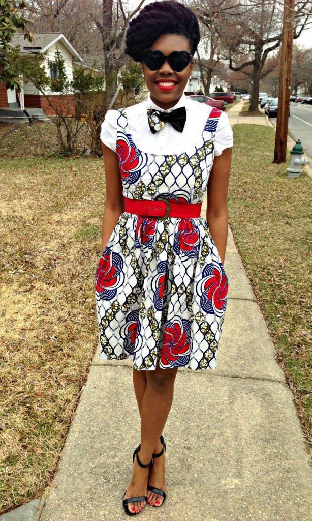 TV Show-Ledisi's Njema Helena Monica Dress on The Queen Latifah Show 4