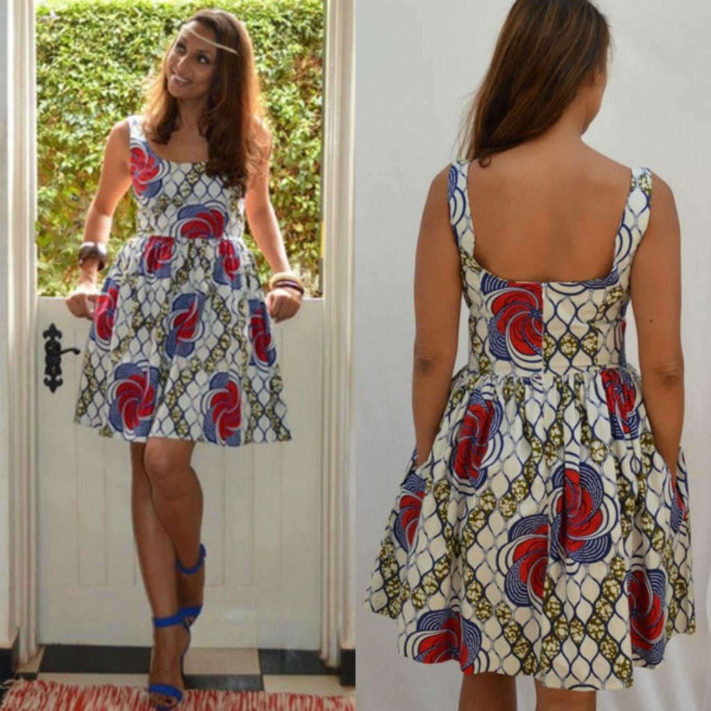 TV Show-Ledisi's Njema Helena Monica Dress on The Queen Latifah Show 5