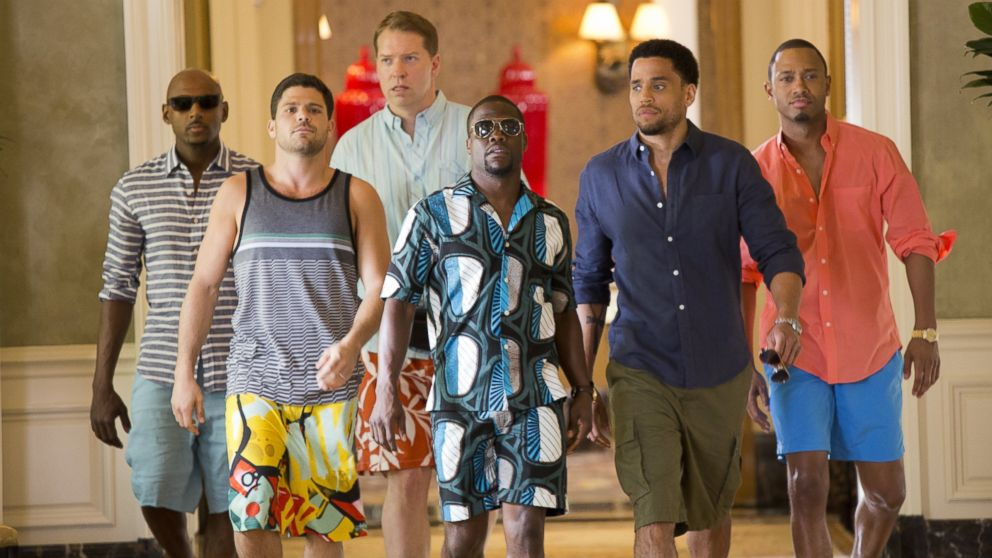 Kevin Hart wears Ankara Print 2 Piece Outfit in 'Think Like A Man Too'