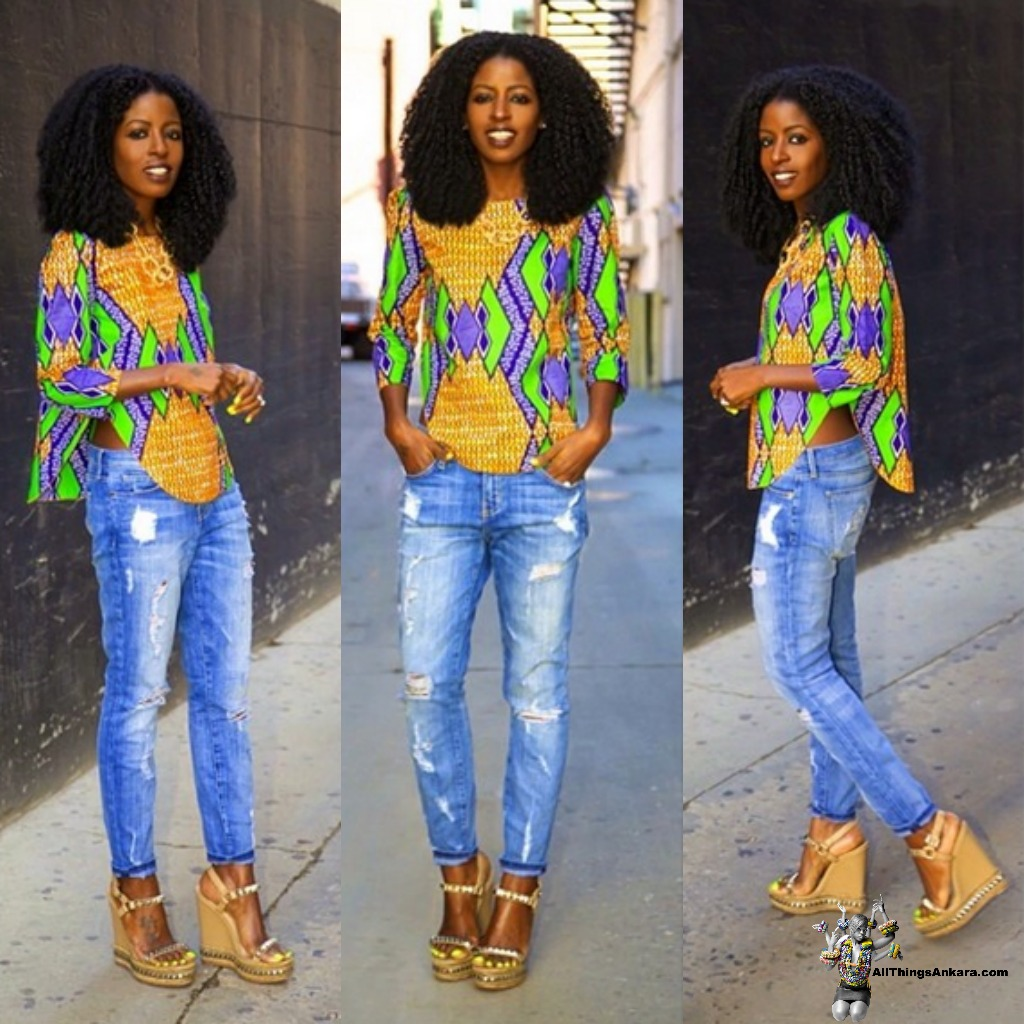 Ankara Street Style / A.S.S of The Day: Style Pantry (Folake ...