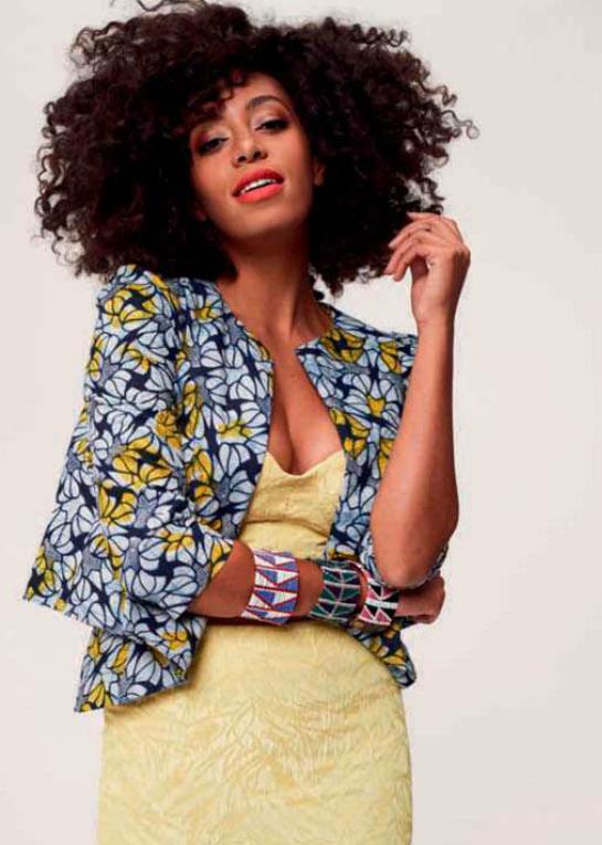 Solange Graces Cover of Elle Magazine Africa November 2012 5