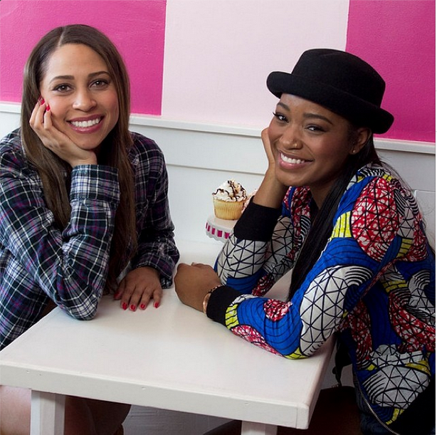 Interview-Keke Palmer's Della & Urban Outfitters Jacket for Teen Vogue 'Besties' Interview