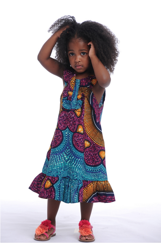 African Print Little Dresses by Bongolicious 3