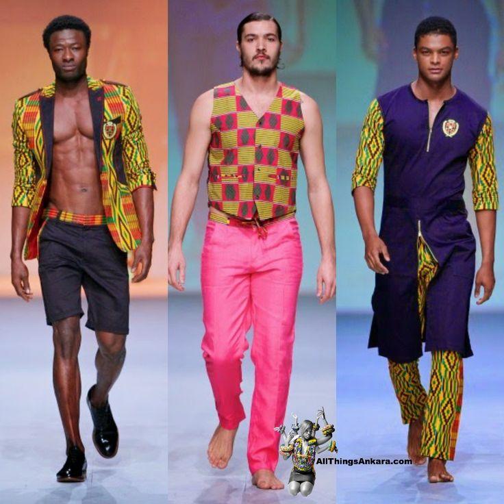 Abrantie The Gentleman at Durban Fashion Fair 2014
