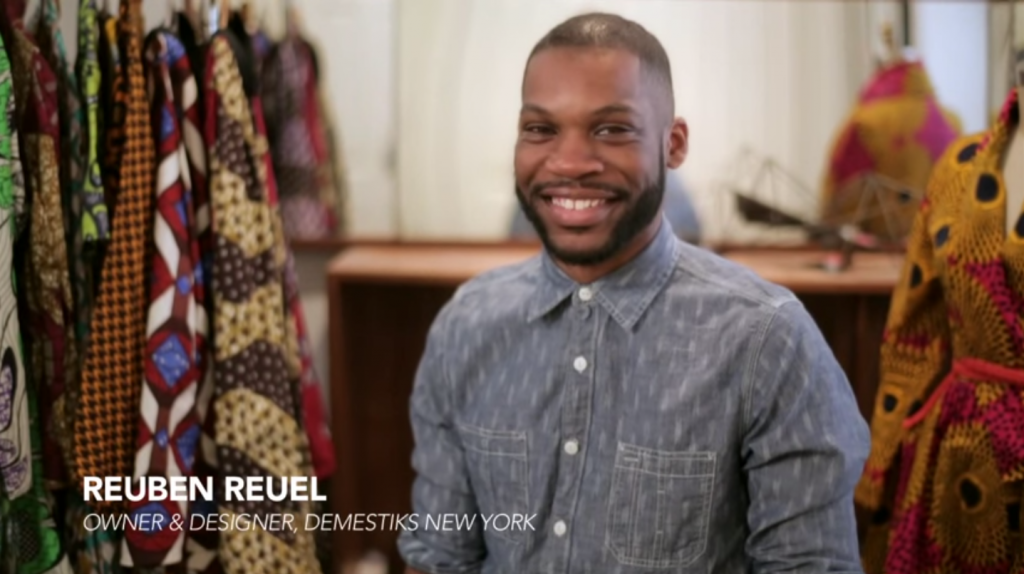 Interview-Reuben Reuel of Demestiks New York featured in %22Cotton Makers%22 Series by Cotton + Marie Claire
