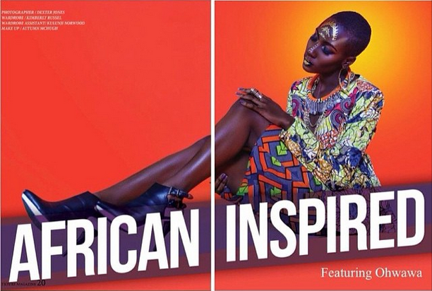 TXTURE Magazine Issue 2 %22African Inspired%22 featuring Ohwawa 2