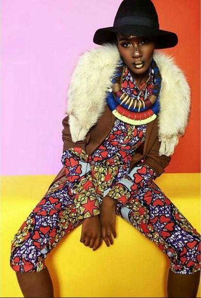 TXTURE Magazine Issue 2 %22African Inspired%22 featuring Ohwawa 3
