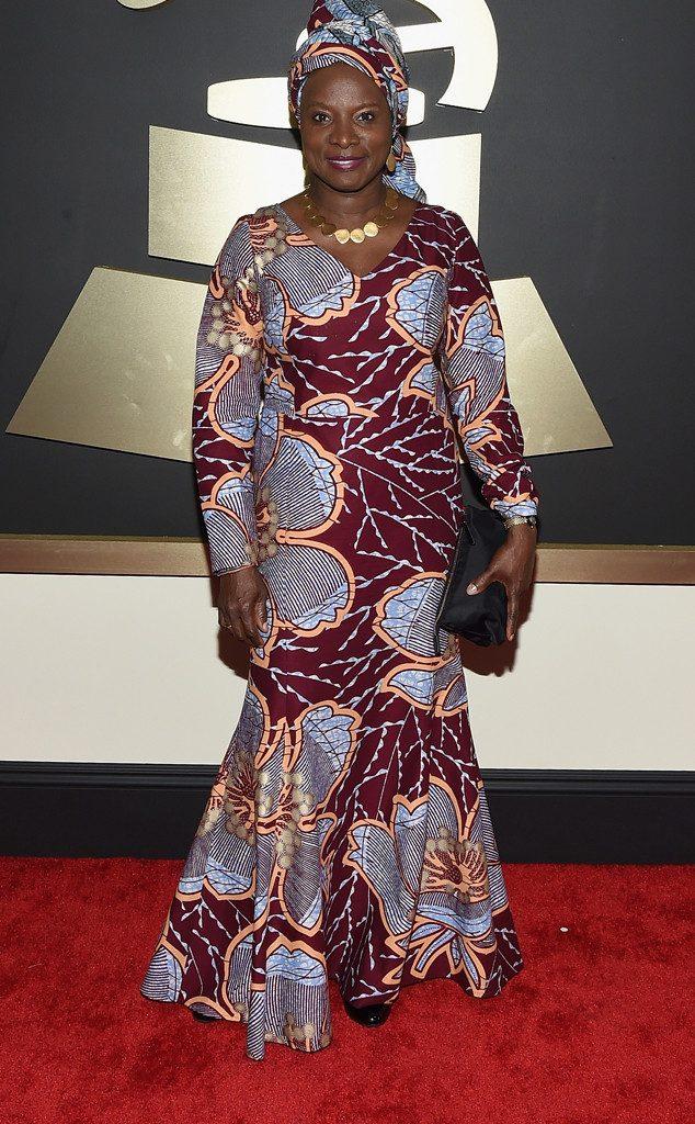 "Award Show- Angélique Kidjo Wins the 2015 Grammy Award for ""Best World Music Album"" 1"