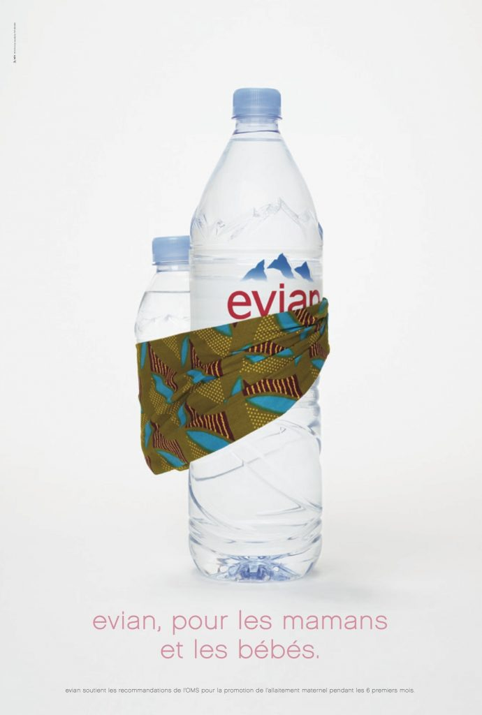 Evian, For Mothers and Babies