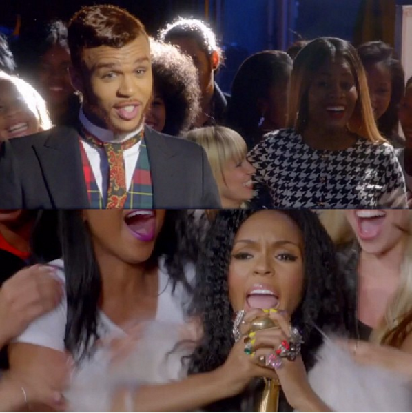 Jidenna in Janelle Monae - Dance Apocalyptic Music Video