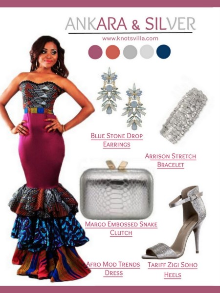 adb14fa34841 Style Board: 3 Gorgeous Ankara Infused Wedding Guest Looks! by Gee of  KnotsVilla
