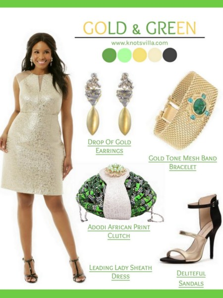 Style Board 3 Gorgeous Ankara Infused Wedding Guest Looks By Gee Of Knotsvilla,Maxi Dress For Wedding Guest With Sleeves