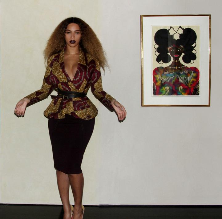 All Things Ankara Beyonce Demestiks New York Peplum Jacket 4