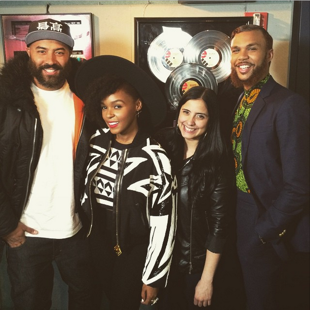 Interview-Janelle Monae introduces Jidenna to Ebro in the Morning 2