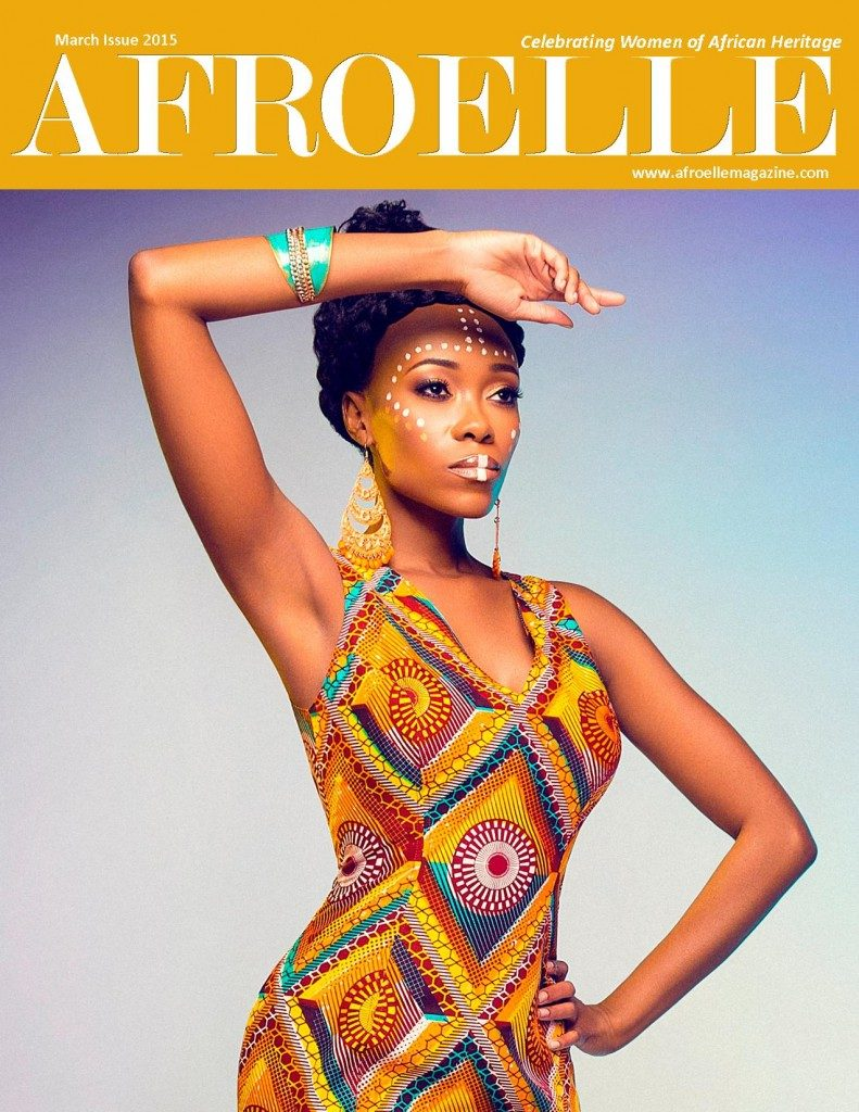 Magazine-Afroelle Magazine March 2015 Issue Cover