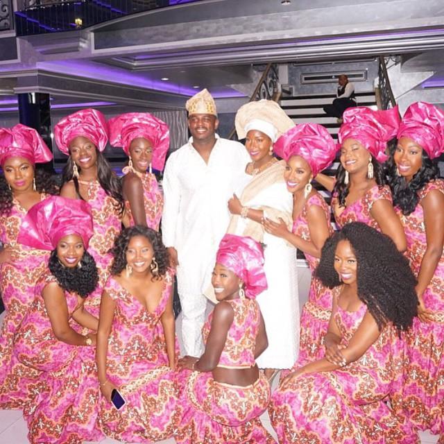 Ibrahim Hasan weds Miss Dunnie Onasanya 1