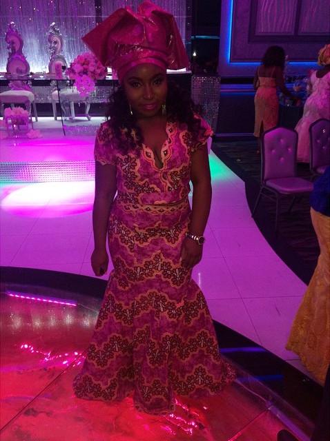 Ibrahim Hasan weds Miss Dunnie Onasanya 3