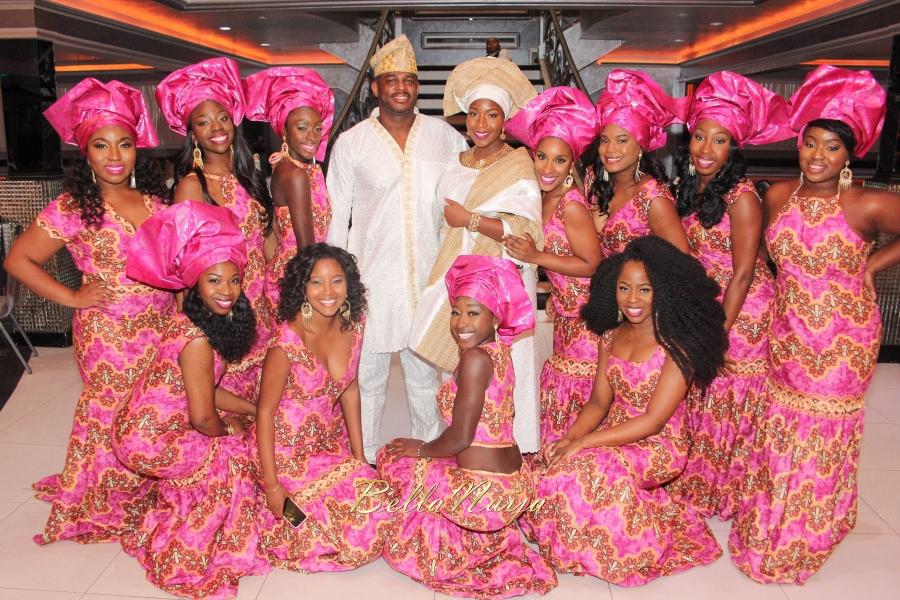 Ibrahim Hasan weds Miss Dunnie Onasanya 8