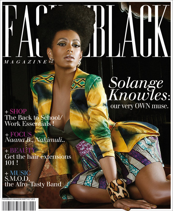 Magazine-Solange Knowles for FASHIZBLACK Magazine September 2010 1