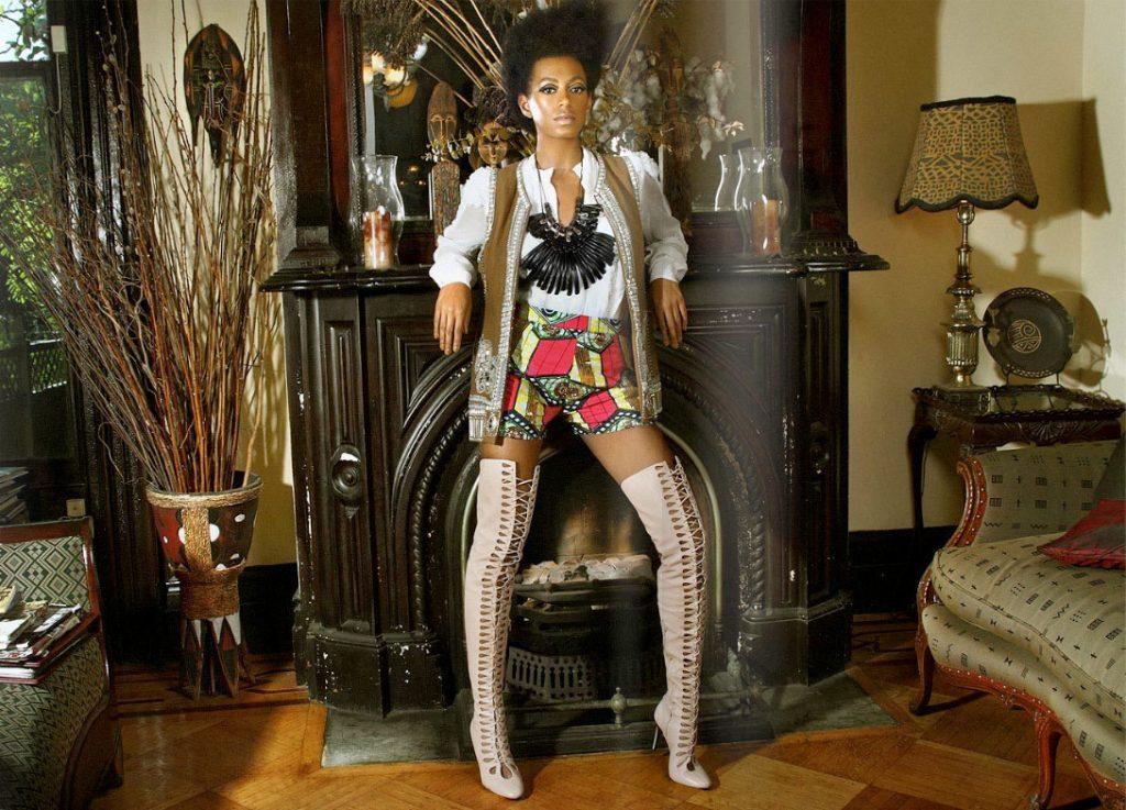 Magazine-Solange Knowles for FASHIZBLACK Magazine September 2010 3