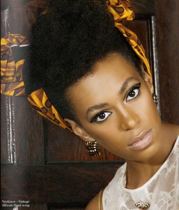Magazine-Solange Knowles for FASHIZBLACK Magazine September 2010 4