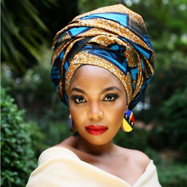 Thembi Seete and Terry Pheto by Trevor Stuurman for Africa Month 2015 2