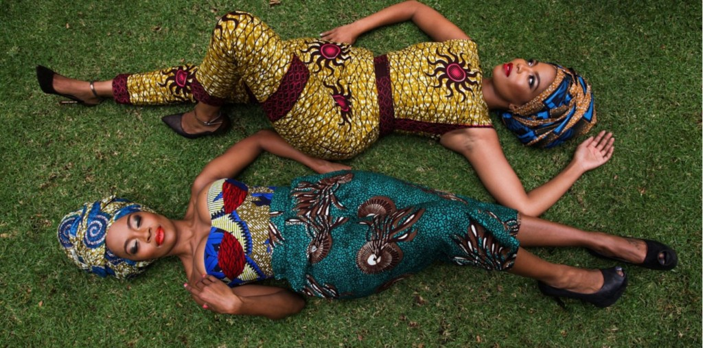 Thembi Seete and Terry Pheto by Trevor Stuurman for Africa Month 2015 4