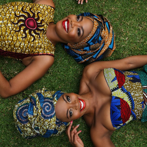 Thembi Seete and Terry Pheto by Trevor Stuurman for Africa Month 2015 5
