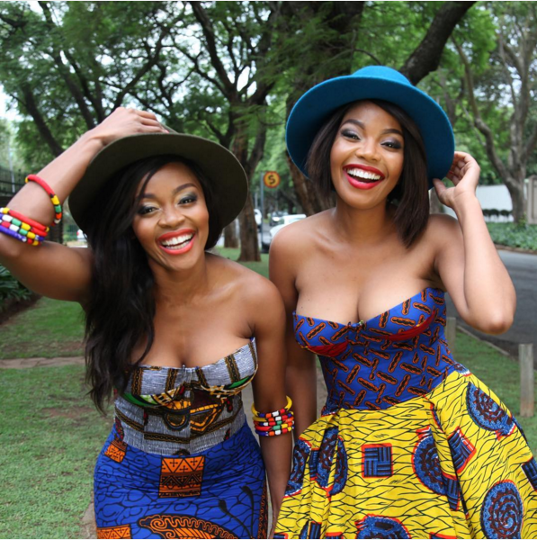 Thembi Seete and Terry Pheto by Trevor Stuurman for Africa Month 2015 6