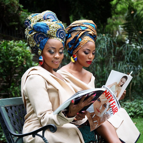 Thembi Seete and Terry Pheto by Trevor Stuurman for Africa Month 2015 8