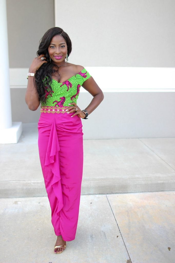 Ankara Street Style of The Day-Irony of Ashi in Kachi Designs 1
