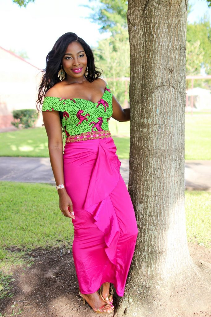 Ankara Street Style of The Day-Irony of Ashi in Kachi Designs 3