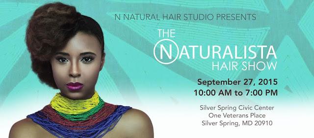The Naturalista Hair Show 2015 Flyer