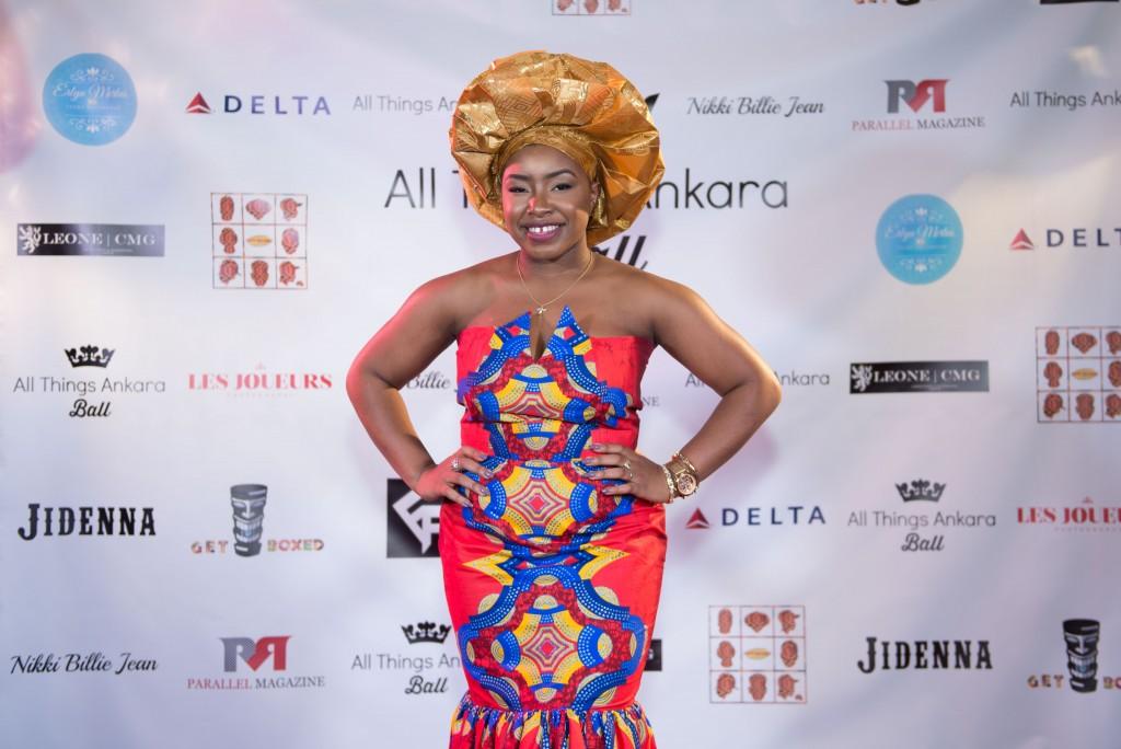 All Things Ankara Ball 2015 Red Carpet Uju Obianwu, Life of an Uj
