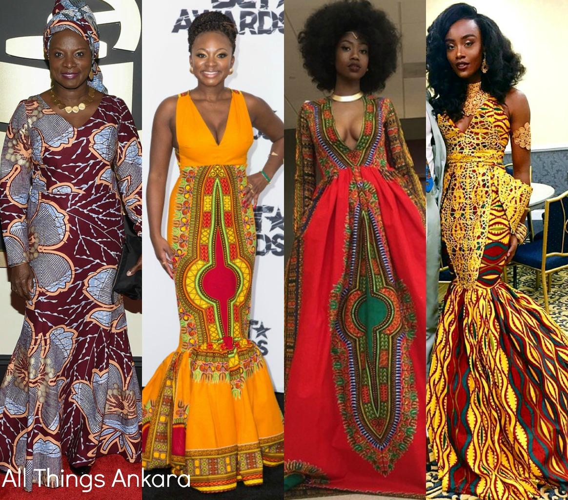 Best Of 2015 Trending Ankara Print Gowns