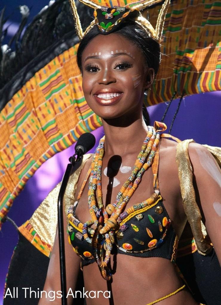 Hilda Akua Frimpong National Costume 2015 National Costume 1