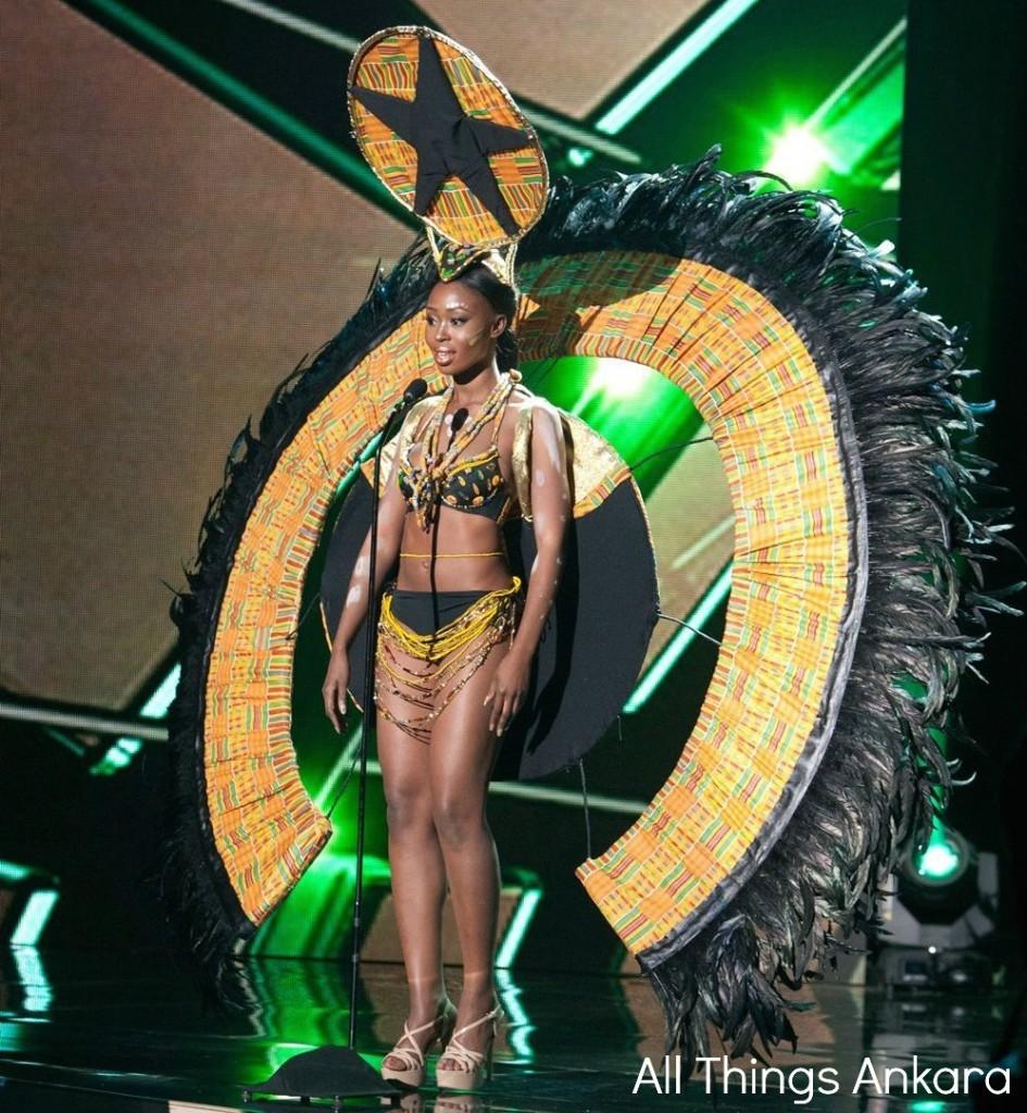 Hilda Akua Frimpong National Costume 2015 National Costume 2