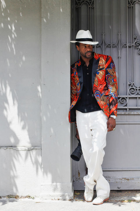 Ankara Street Style of The Day Karl Guerre in Alexander Nash 3