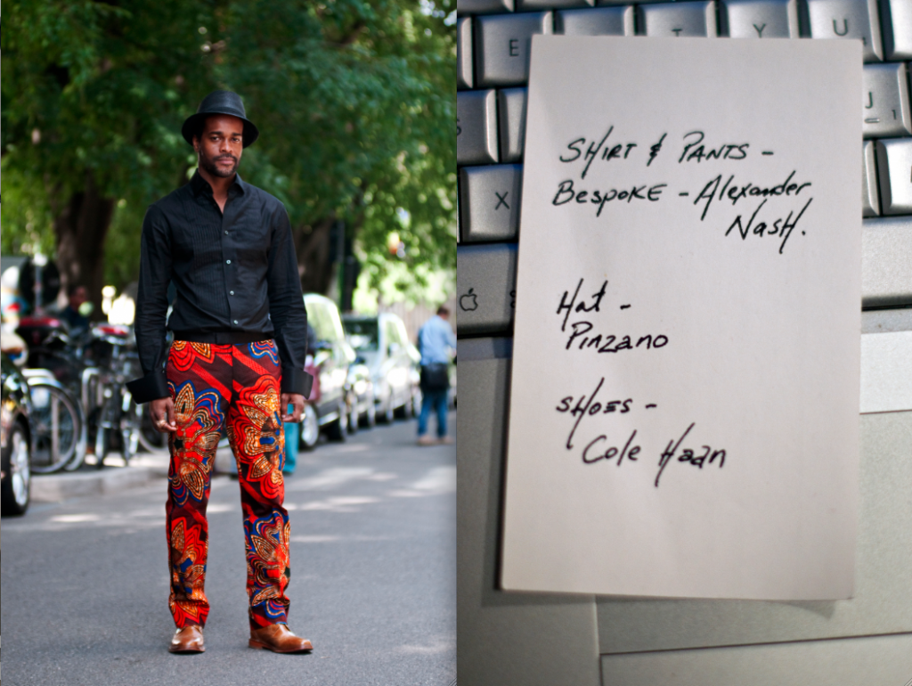 Ankara Street Style of The Day Karl Guerre in Alexander Nash 5