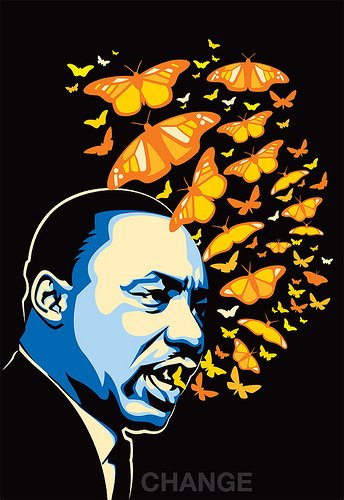 Martin Luther King Jr %22The Voice of Chnage%22 Richie Stutler