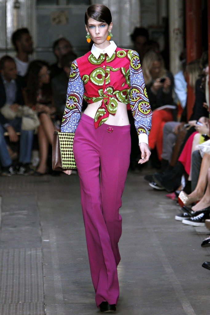 Moschino Cheap and Chic Spring 2013 Ready To Wear 2