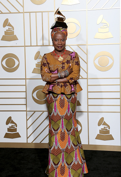 Angelique Kidjo wins the 2016 Grammy Award for %22Best World Music Album%22 2