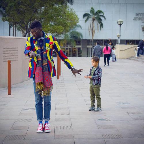 Jason Kusimo of Afrisager in Dollysam Color Me Badd Blazer 4