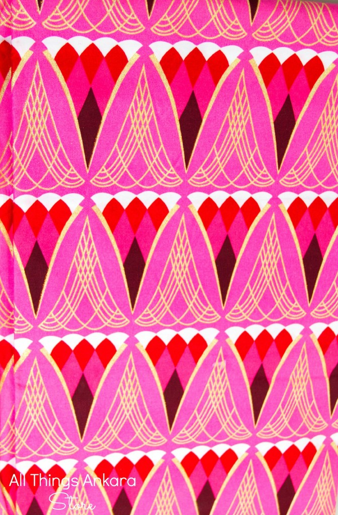 Pink Red White Gold Glitter Shining Sand Wax Prints by New Vision