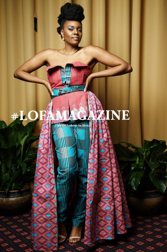 LOFA Magazine's Best Dressed Women at the All Things Ankara Ball 2015 17