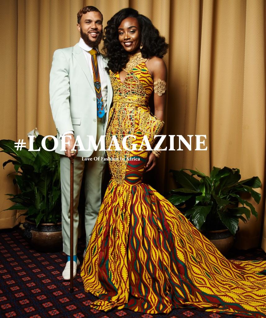 LOFA Magazine's Best Dressed Women at the All Things Ankara Ball 2015 2