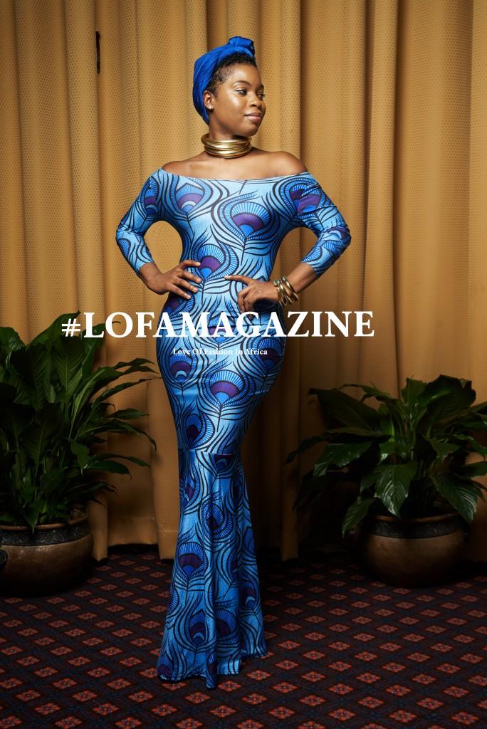 LOFA Magazine's Best Dressed Women at the All Things Ankara Ball 2015 5