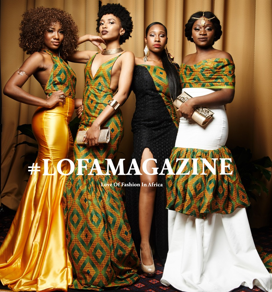 LOFA Magazine's Best Dressed Women at the All Things Ankara Ball 2015 8