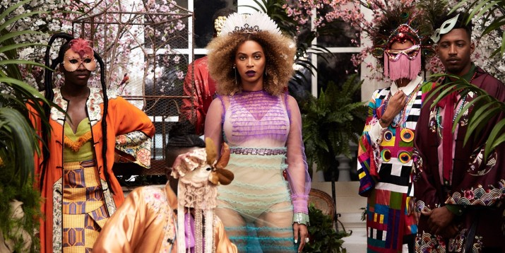 Loza Maléombho SS 16 Zaouli featured in Beyoncé's 'Formation' Music Video